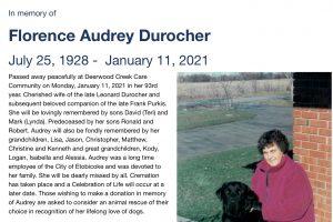 Audrey Durocher 2